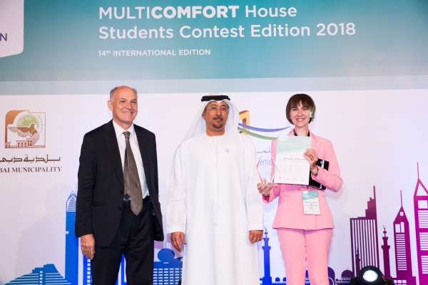 14th Students Contest  Multi-Comfort House 2nd place