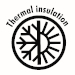 termal insulation icon